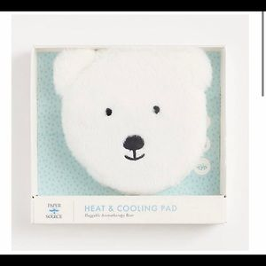 Nwt paper source cozy bear heating and cooling pad